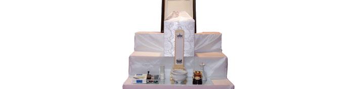 密葬プラン祭壇